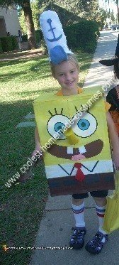 Homemade Spongebob Kids Costume