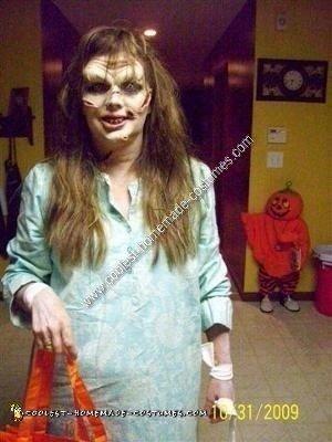Homemade Spooky Exorcist Halloween Costume