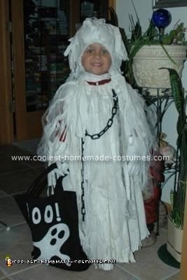 Homemade Spooky Ghost Halloween Costume