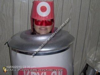 Homemade Spray Paint Can Costume