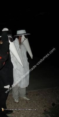 Homemade Spy vs Spy Couple Costume