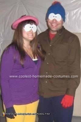 Homemade Stan and Wendy South Park Couple Costumes