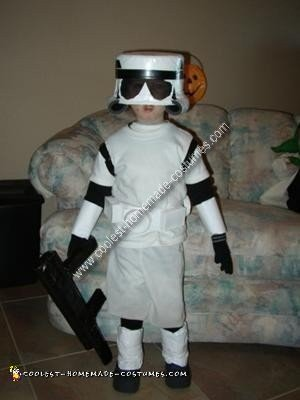 Homemade Star Wars Costume