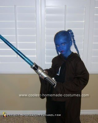 Homemade Star Wars Halloween Costume Idea