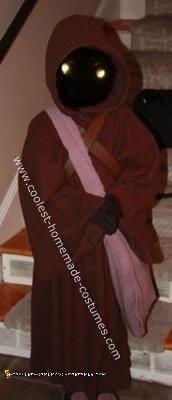 Homemade Star Wars Jawa Costume