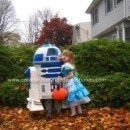Homemade Star Wars R2D2 Costume