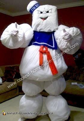 Homemade Stay Puft Halloween Costume