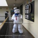Homemade Stay Puft Marshmallow Man Costume