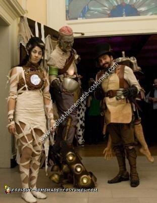 Dr. FrankenSTEAM, his Monster, & the Bride