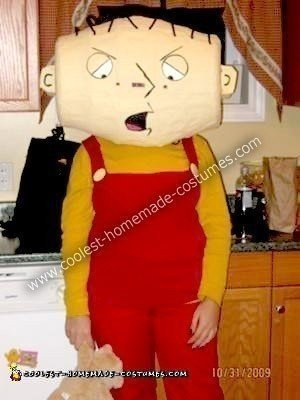 Homemade Stewie Griffin Costume