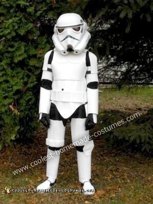 Homemade Stormtrooper Costume