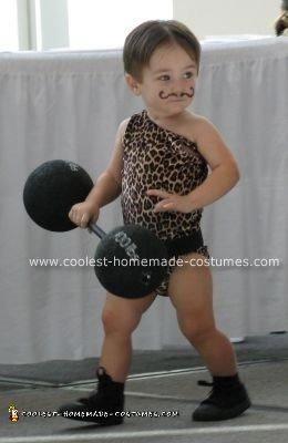Homemade Strongman Costume
