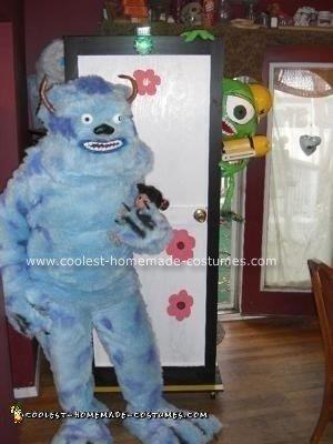 Homemade Sully Costume