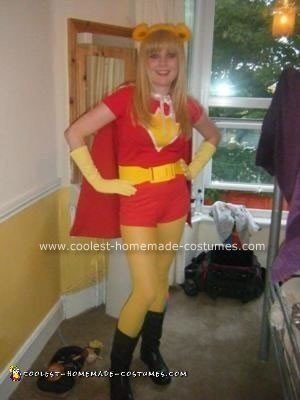 Homemade Superted Costume