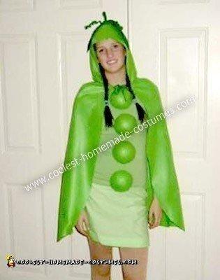 Homemade Sweet Pea Costume