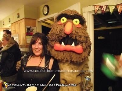 Homemade Sweetums from The Muppet Show Costume