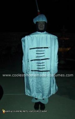 Homemade Syringe Costume