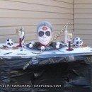 Homemade Table of Death Halloween Costume Idea