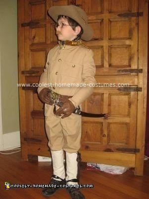 Homemade Teddy Roosevelt Costume