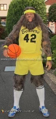 Homemade Teen Wolf Adult Costume
