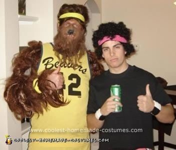 Homemade Teen Wolf Costume
