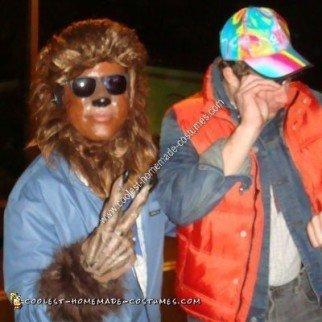 Homemade Teen Wolf Halloween Costume Idea
