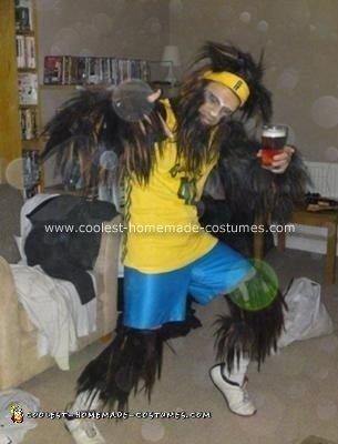 Homemade Teenwolf Costume