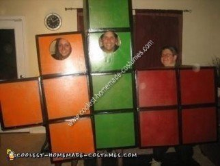 Homemade Tetris Costume