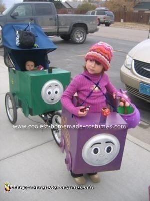 Homemade Thomas and Friends Costumes