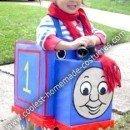 Homemade Thomas the Train Girl Costume