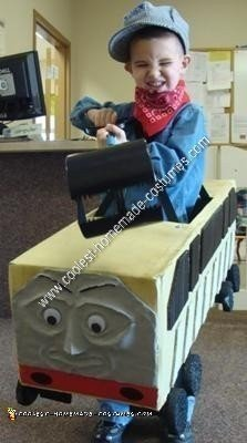 Homemade Thomas the Train's Diesel 10 Halloween Costume Idea