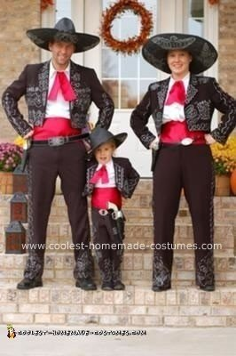 Homemade Three Amigos Group Costume