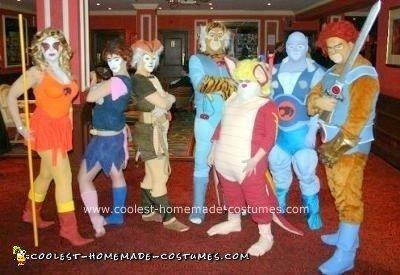 Homemade Thundercats Group Costume