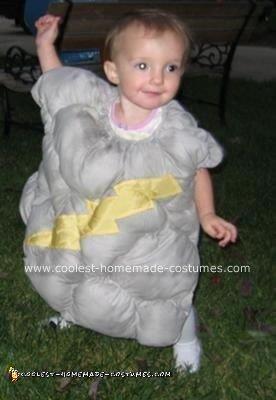 Homemade Thundercloud Costume
