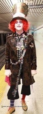 Homemade Tim Burton's Mad Hatter Costume
