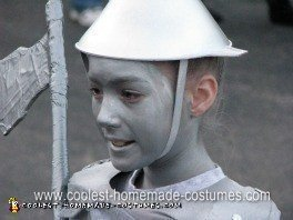Homemade Tin Man Costume