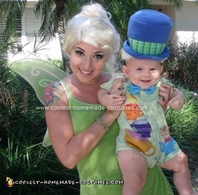 Homemade Tinkerbell and Madhater Costumes