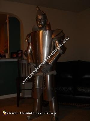 Homemade Tinman Costume