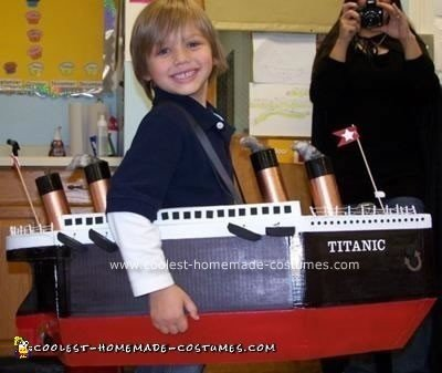 Homemade Titanic Costume