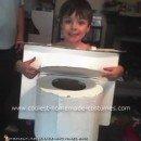 Homemade Toilet Costume