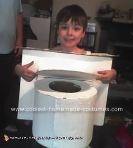 Homemade Toilet Costume