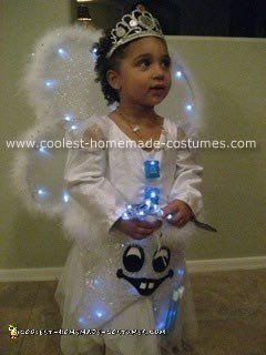 Homemade Tooth Fairy Halloween Costume
