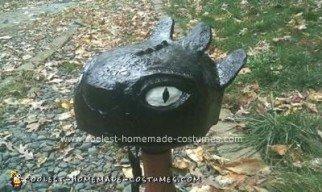 Homemade Toothless The Dragon Halloween Costume Idea