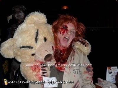 Homemade Toronto Zoo Bear Attack Halloween Costume Idea