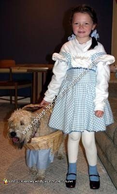 Homemade Toto Dog Costume