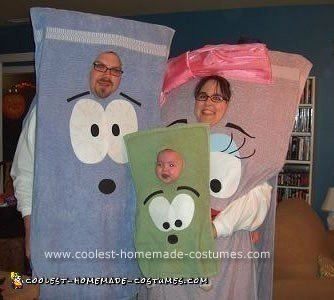 Homemade Towels from Southpark Costumes