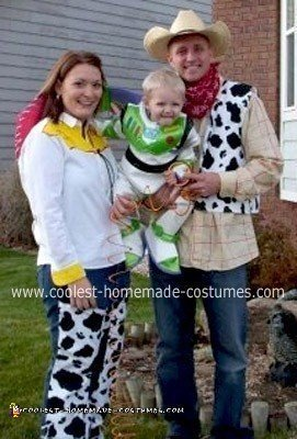 Homemade Toy Story 2 Family Costume