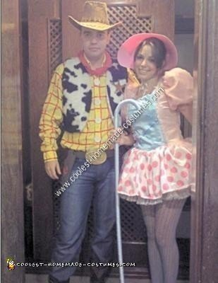 Homemade Toy Story Couple Costume