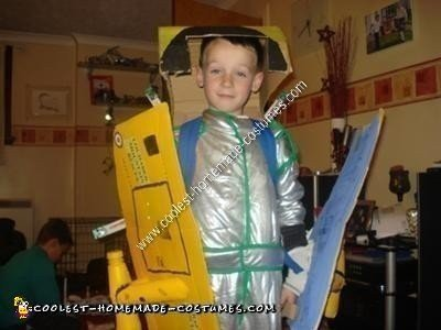 Homemade Transforming Sea King Helicopter Halloween Costume Idea