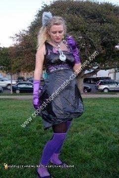 Homemade Trash Costume